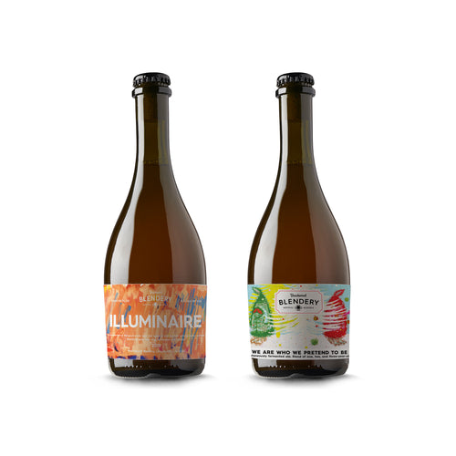 SPONTANEOUS GUEUZE INSPIRED DUO  - 2 x 500ml bottles