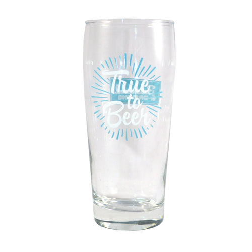 True to Beer Glass