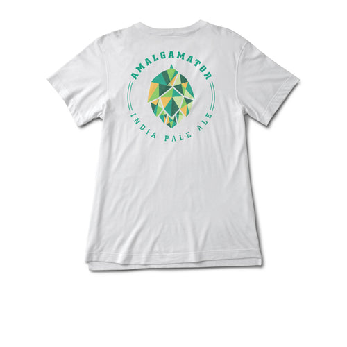 Women's Amalgamator White T-Shirt