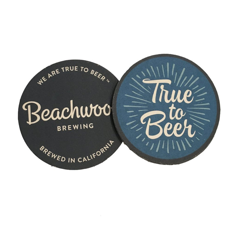 True to Beer Coaster Pack