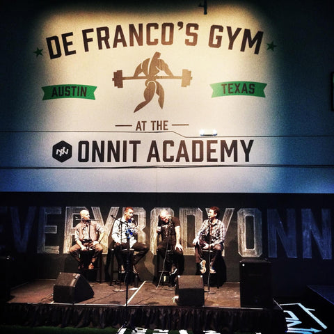 Grand Opening Podcast From DeFranco's Gym at Onnit Academy
