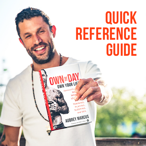 Own The Day Quick Reference Guide