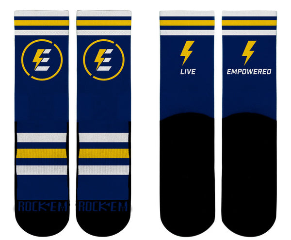 "EMA ""Live Empowered"" Socks 2017"