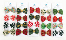 Small hair bows - CHRISTMAS Lucky Dip (4 x small bows)