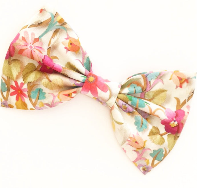 Liberty Luxe Hair Bow - Windrush