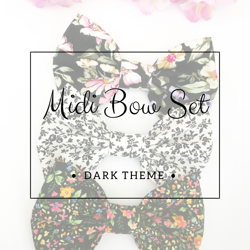 Midi bow set - Lucky dip - Dark Theme