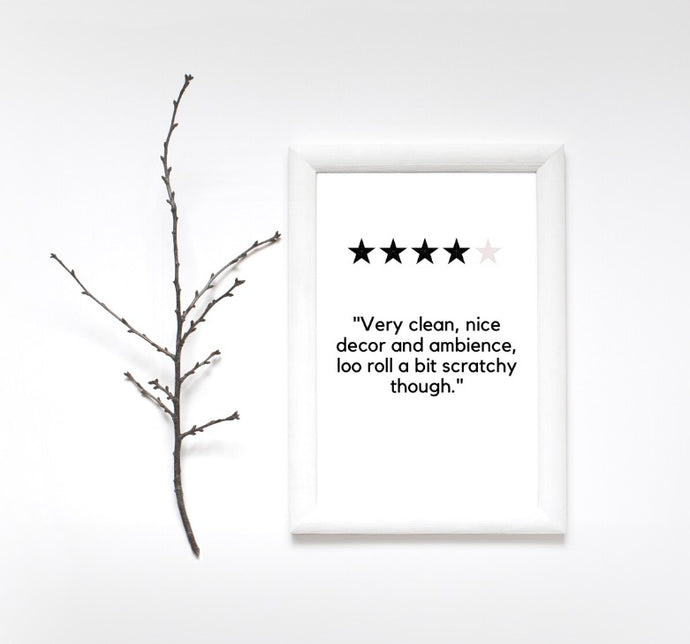 4 star review Print
