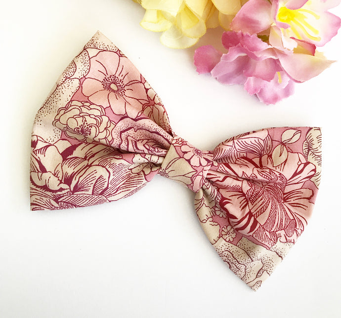 Liberty Luxe Hair Bow - Dulwich Park