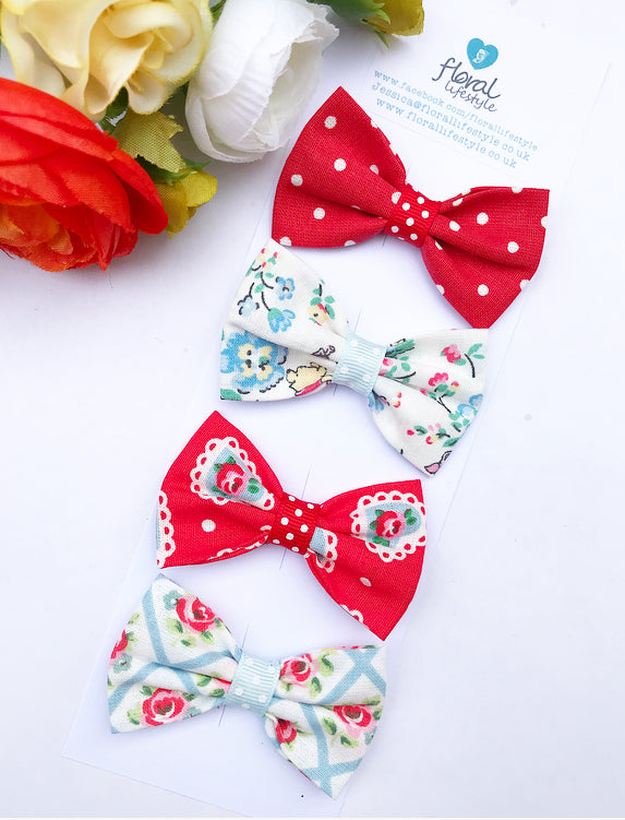 Small Cath Kidston Fabric Bows Set - Collection 5