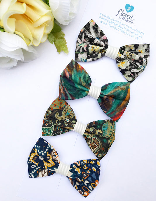 Liberty Luxe Small Bow Collection - Sea Treasures