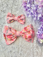 Mother and Daughter / Two sisters bow set - Isabella