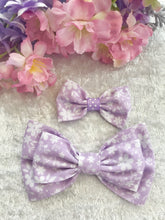 Mother and Daughter / Two sisters bow set - Alicia