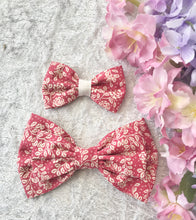 Mother and Daughter / Two sisters bow set - Amelia