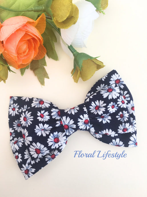 Large Hair Bow - Daisy Chain