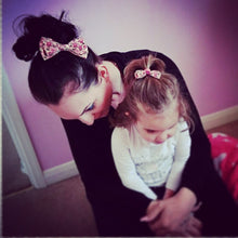 Mother and Daughter / Two sisters bow set - Isla