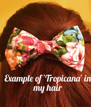 Large Hair Bow - Summer Fizz