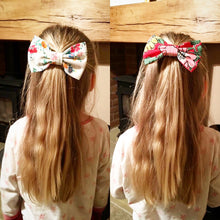 Cath Kidston Fabric Bow - Lace Stripe