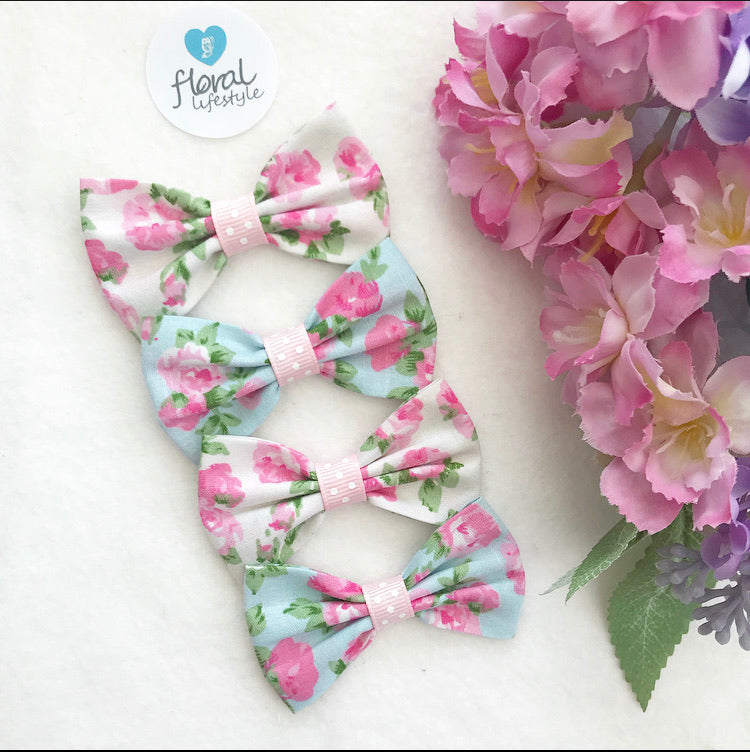 Small Hair Bows set - TWENTY