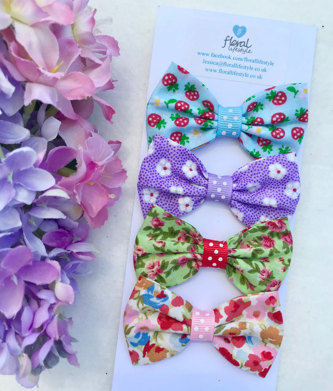 Small Hair Bows set - Time to Party 2