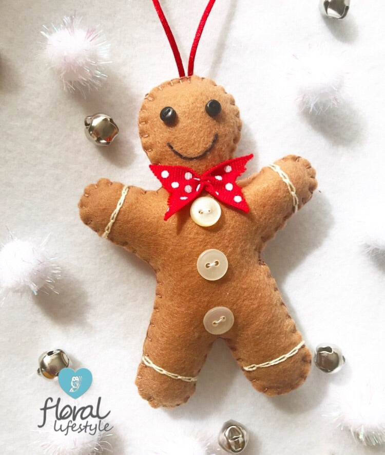 Gingerbread Man Decoration