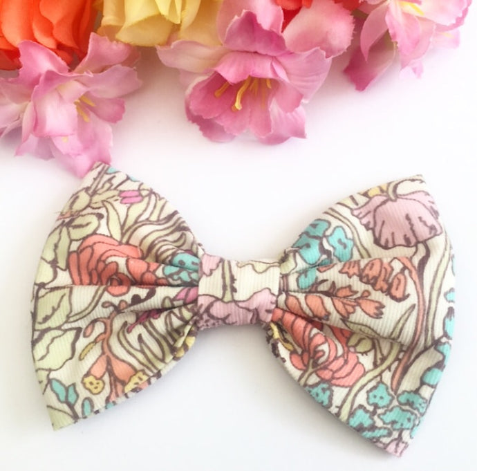 Liberty Luxe Hair Bow - PoppyTot - Pastels