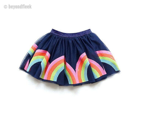 Unicorn Sequined Rainbow Tutu Skirts (12 months to 7T)