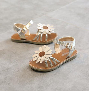 Flower Girl Summer Beach Sandals Size 21-35