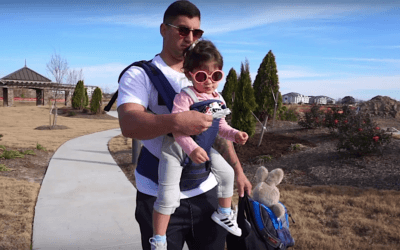 Baby Carrier for daddy – Bramty Juliette