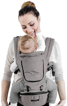b4ac8580d90 HIPSTER™ PLUS - MiaMily 3D Baby Carrier for Healthy Baby