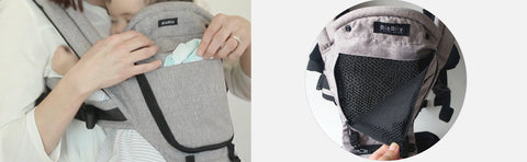 MiaMialy HIPSTER™ PLUS 3D Baby Carrier Front Pocket