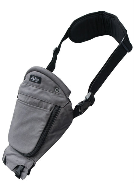 Single Shoulder - Charcoal Grey