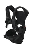 HIPSTER™ Essential Baby Carrier Black back side