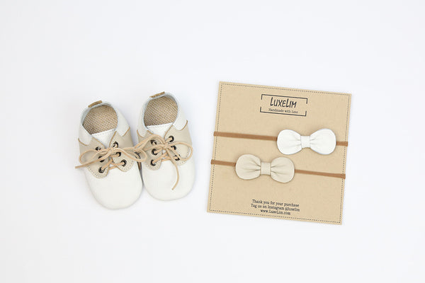 Spring Oxford baby shoe