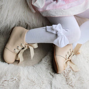Amy lace -up Leather Booties