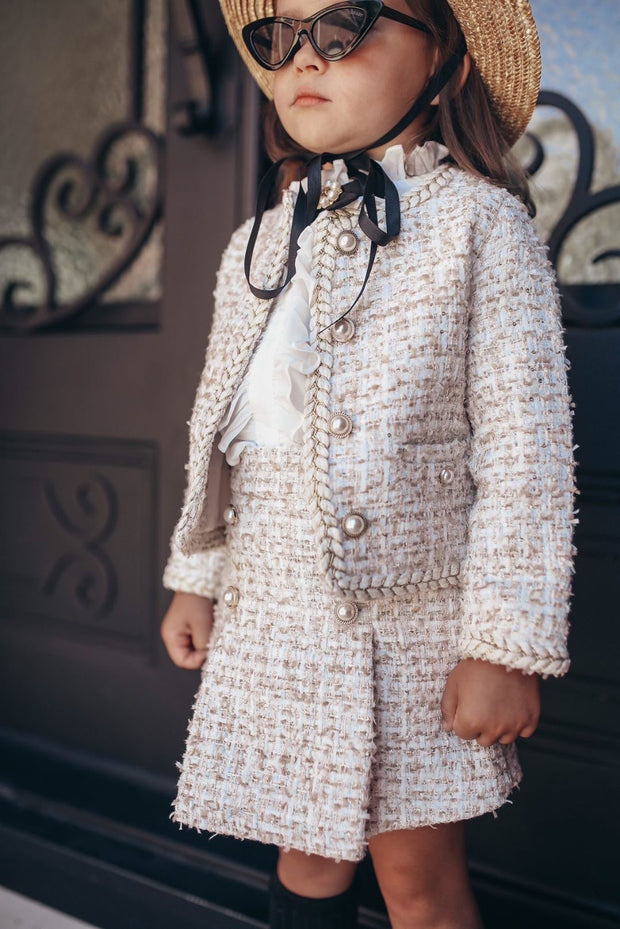Ella tweed jacket and skirt Limited edition!