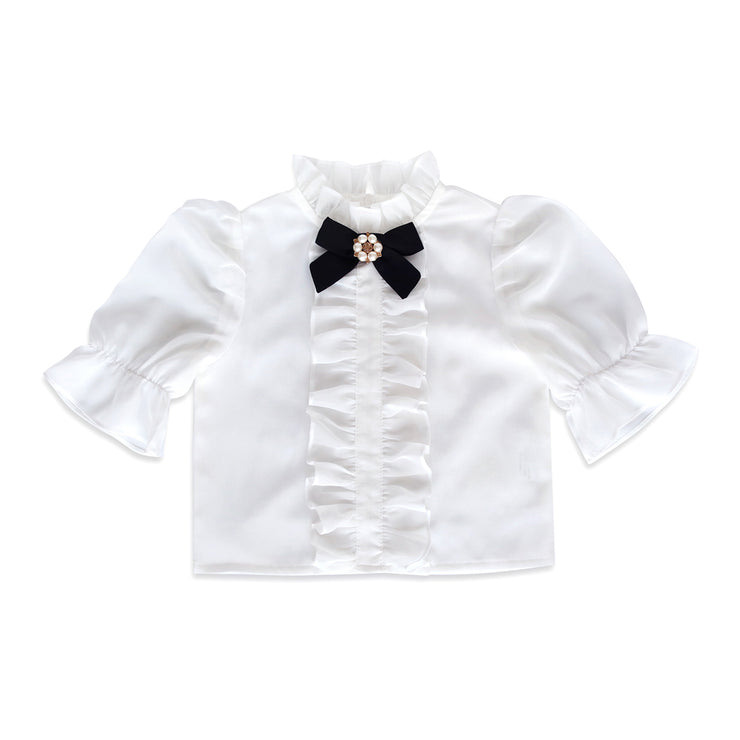 Ella Blouse with bow Limited edition!