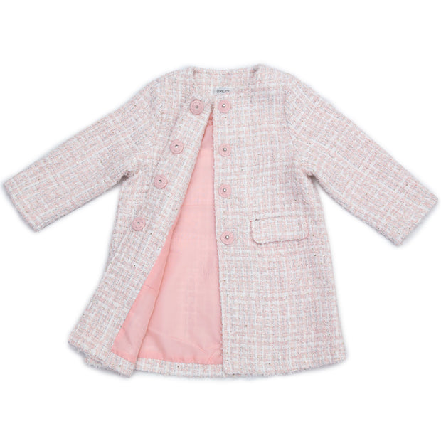 Diana tweed Coat / Jacket Pink