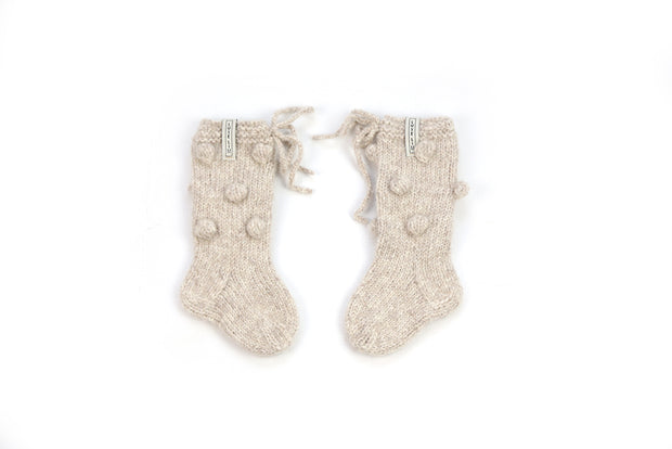 Alpaca wool Booties