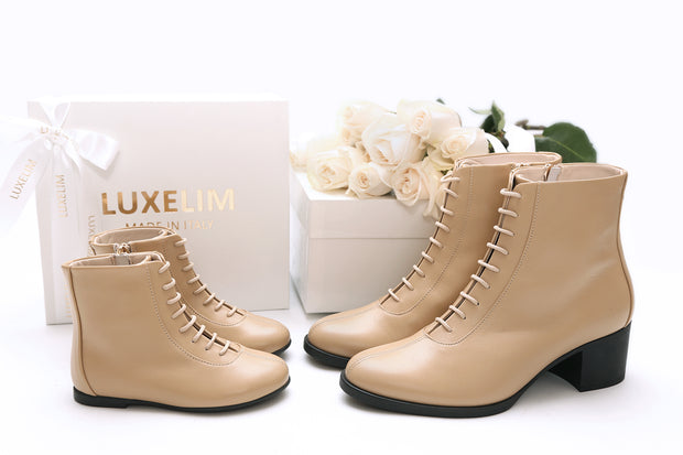 Women's lace-up Boots Milano Collection