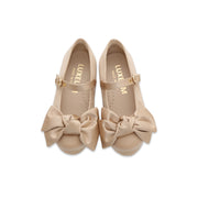 Victoria bow shoes beige
