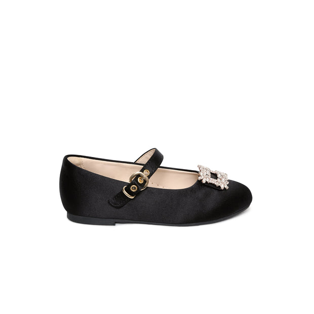 Lila satin shoes
