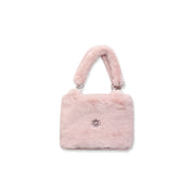 Faux-fur Handbag pink Nicole Collection