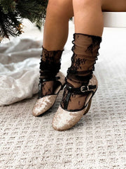 Zelda sequin shoes