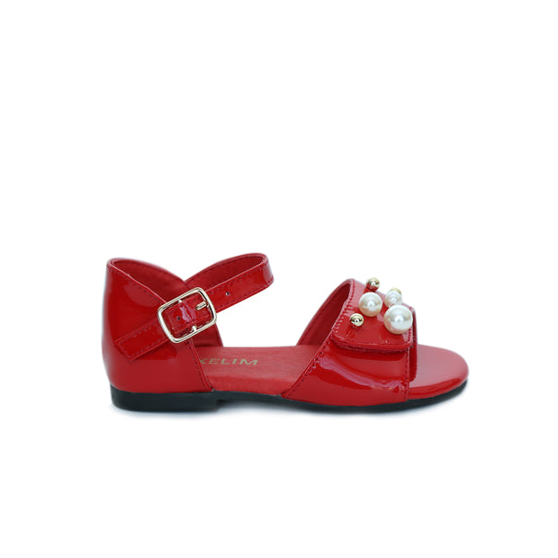 Emma Sandals Red Patent Leather
