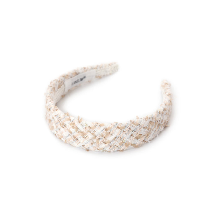 Diana tweed headband