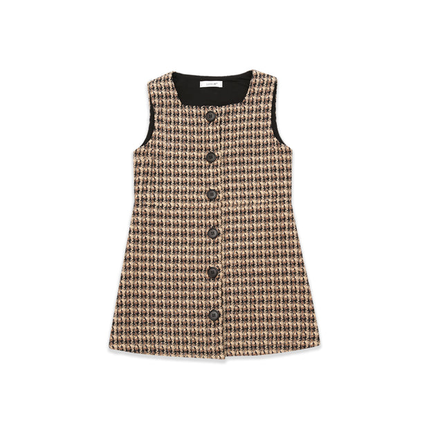Julie Tweed Pinafore Dress