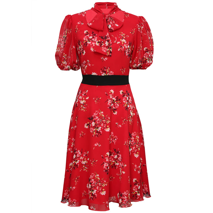 Women's Tie-neck Lilly Dress