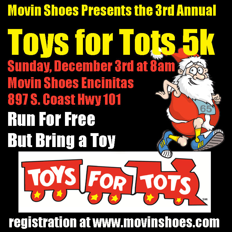 Register for the Toys for Tots 5k