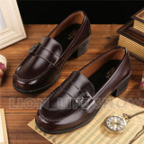 Japanese Uniform Shoes For Cosplay - Women