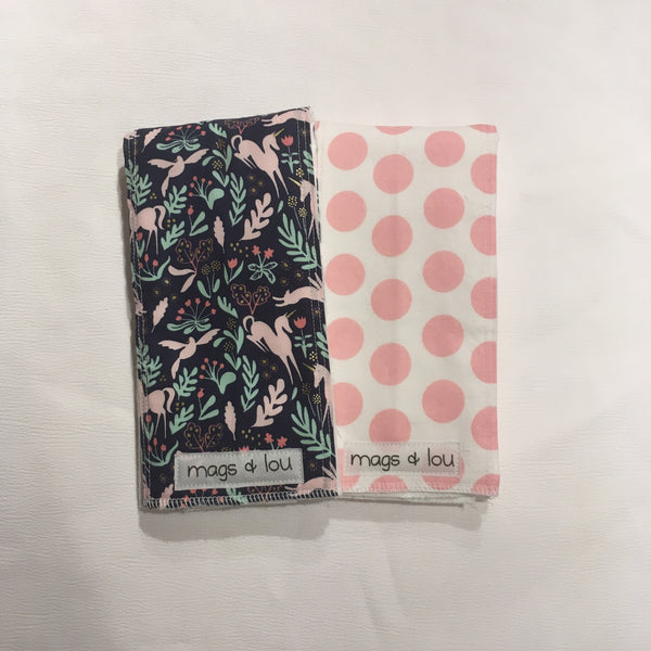 Burp Cloths - Sets of 2